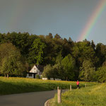 15. Etappe - Richtung Meisberg, oberhalb Islikon