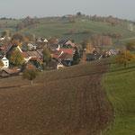 1. Etappe - Arisdorf, Blick auf Olsberg