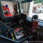 Fahrerkabine mit Gasmessgerät, Einsatzunterlagen, Seilwindensteuerung,