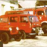 Gruppenfoto 1976 Jepp, Ford FK 1000, TLFA 4000