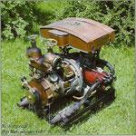 Tragkraftspritze Rosenbauer GR II aus dem Jahr 1930