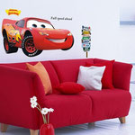 Wand-Sticker Lighting Mcqueen (Nr 5) Grösse ca 110 x 50cm Fr 15.00