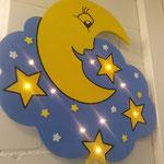 Wunderschön gemachter Mond, passt super in das Kinderzimmer ! Fr 45.00