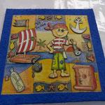 Super Idee fürs Kinderzimmer ;-) Liebevoll gestaltete 3D Bilder! 40 x40cm  Preis: Fr 49.00