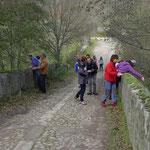 Excursión otoñal por las Sierras de Francia y Bejar: Puente de la Malena