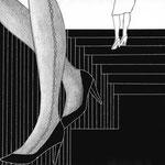 『名前はいらない』牧村一人著 集英社 小説すばる 短編小説挿絵 2017 1月号