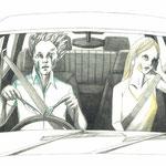 カッコいい運転の仕方 ©2015 ako sato.