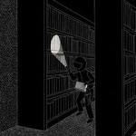 ダ・ヴィンチ5月号 中山七里さんの短編小説 挿絵 2013