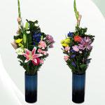 花瓶用花束 (大)1束¥5,000 / (小)1束¥3,500