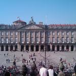 "12.09.2009: Blick auf den ""Praza do Obradoiro"" nach der Messe"