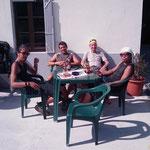 14.09.2009: Unterwegs mit Ufra, Anne, Koki & Billy