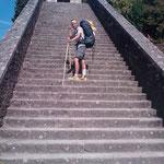 08.09.2009: Auf der chinesischen Mauer :-)