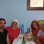 11.08.2009: Gemeinsammes Essen mit Jesus, Maria & Sara