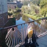 """06.09.2009: Blick auf das wunderschöne Kloster in """"Samos"""", in dem ich übernaachte."""