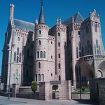 """31.08.2009: Bischofspalast von Antoni Gaudí in """"Astorga"""""""