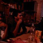 01.09.2009: Manjarin, Abendessen unter anderen mit Angela & Olivier