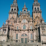 "11.09.2009: Erstes Foto der Kathedrale von ""Santiago de Compostela"""