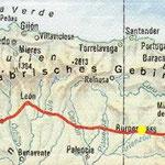 "Der Camino Francés: Vom Pass ""Puerto de Somport"" bis ""Finisterre"""