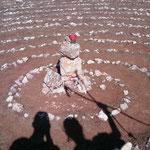 """20.08.2009: 'Symbol der Symbole' zusammen mit Johanna kurz vor """"Cardeñuela-Ríopico"""""""