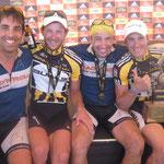 28.03.2010: Finisherbild zusammen mit den Siegern Karl Platt und Stefan Sahm