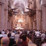 12.09.2009: Pilgermesse in der Kathedrale