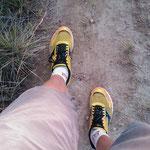 09.08.2009: Meine noch jungfräulichen Schuhe