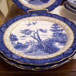 Indian Tree Booths Real Old Willow 8 1/4 in Plate - $35.00