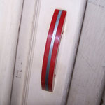Vintage Kitchen Cupboard Doors with Red Bakealite Handles - $100.00
