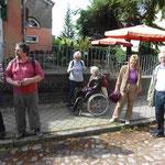 Ankunft und Sammeln vor dem alten Dorfkrug G.W.