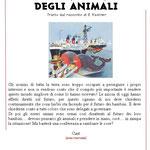 creaf teatro ragazzi nelle scuole - la conferenza degli animali