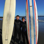 Ready für die erste Surf-Lektion...