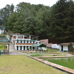 Die Becken des Balnearios Eréndira.