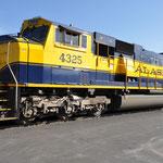 Alaska Railroad - auch im Denali Nationalpark vertreten.