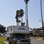 Auch unserem Truck-Camper hat es in Santa Barbara gefallen :-)