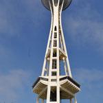 """Die """"Space Needle"""" - das Wahrzeichen von Seattle."""