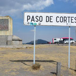 Der Paso de Cortés liegt zwischen den beiden Vulkanen auf 3'700 Metern Höhe.