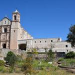 Das Dominikanerkloster in Yanhuitlan haben wir per Zufall entdeckt.