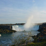 Die weltbekannten Horseshoe Falls.