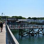 Schönes Boothbay Harbor.