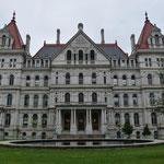 Das New York State Capitol-Gebäude.