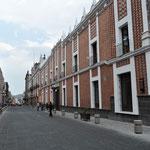 Puebla hat viele Gebäude im Kolonial-Stil.