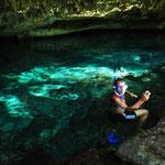 Claudio liess es sich nicht nehmen, mit seiner Schnorchelausrüstung und der GoPro ein paar Unterwasser-Fotos zu schiessen.