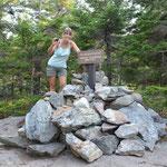 Angi gab sich mit einem kleinen Stein zufrieden :-)
