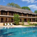Hier wartet der wohl schönste Pool Mexikos auf uns. Vamos!