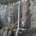 Im Frühling fällt hier wesentlich mehr Wasser, als dies im Herbst der Fall ist.