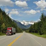 Fahrt von Revelstoke nach Golden über den Rogers Pass