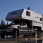 Moon Lake Campground - Wasser zum Löschen wäre genügend vorhanden...