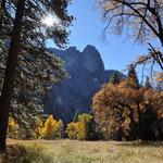 Wunderschöne Herbstfarben bei unserem Besuch.