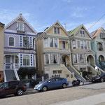 Mit Theres auf der Suche nach dem Haus von Janis Joplin... es war nicht ganz einfach... :-)