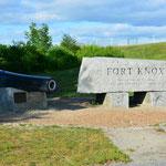 Klar besichtigten wir auch das Fort Knox.